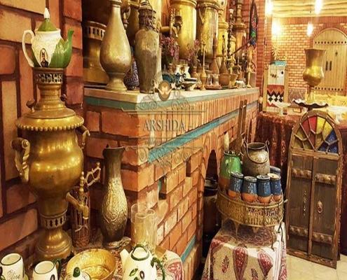 سفره خانه سنتی و مراکشی